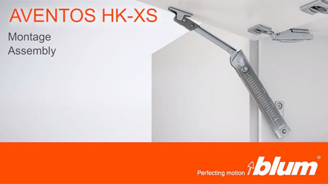 AVENTOS HK-XS lift system – Assembly video