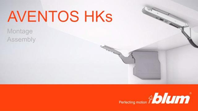 Portes relevables AVENTOS HK-S - Film de montage