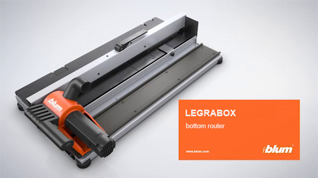 LEGRABOX Bottom router