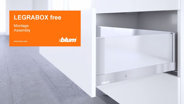 LEGRABOX free assembly video