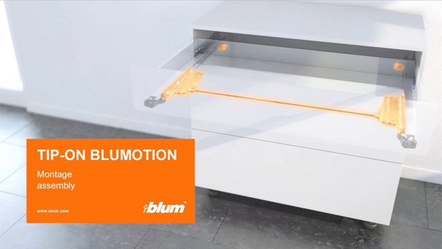 TIP-ON BLUMOTION for LEGRABOX and MOVENTO