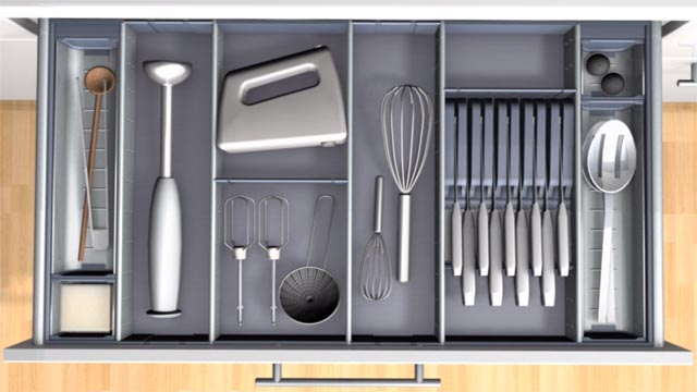 ORGA-LINE for kitchen utensils and knives