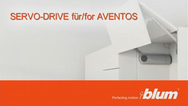 SERVO-DRIVE for AVENTOS - Assembly video