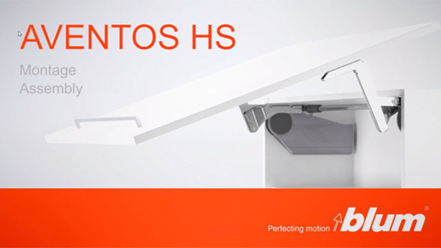 AVENTOS HS lift system - assembly video
